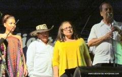 Reconocimientos a Miguel Emiro Naranjo y Soad Louis.